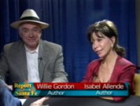 Isabel Allende and Willie Gordon