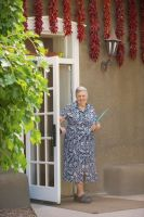 Florence Jaramillo, founder and owner, Rancho de Chimayo Restaurant